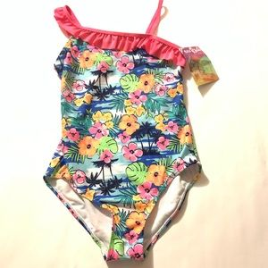 NWT FREE STYLE REVOLUTION ONE PIECE SWIMSUIT 10,12